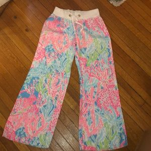 Lilly Pulitzer linen pants